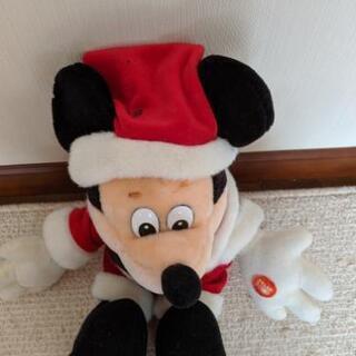 ディズニーぬいぐるみミッキーマウスサンタ - 売ります・あげます