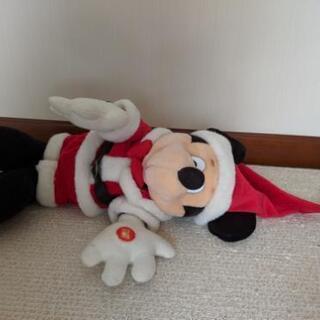 ディズニーぬいぐるみミッキーマウスサンタ - 新潟市