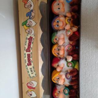 ディズニーぬいぐるみ七人の小人