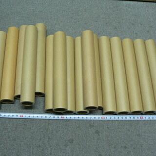 紙管(紙製の芯)17本差し上げます。(長さ20.9cm,幅3.4cm)