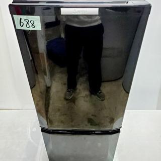 688番 MITSUBISHI ✨ノンフロン冷凍冷蔵庫❄️MR-...