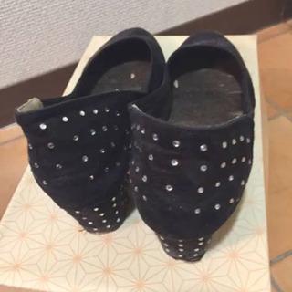 パンプス ブラック - 靴/バッグ