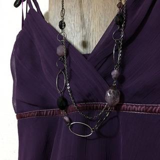 ドレスとネックレスのセット