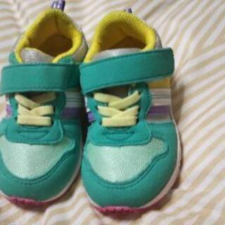 【新品】幼児の靴【15cm】