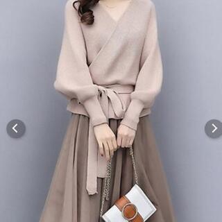 新品 セットアップ 秋冬スカート