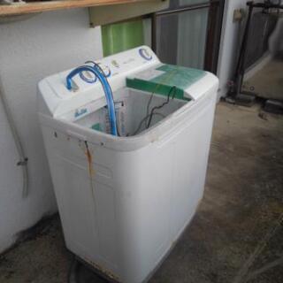 2層式洗濯機