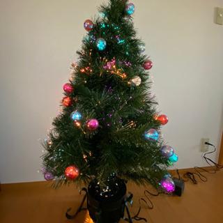 クリスマスツリー オーナメント付き