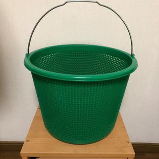 収穫籠 洗濯籠 植木鉢カバー おもちゃ入れ