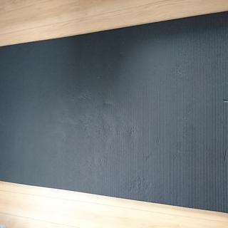 トレーニングマット 初心者向け ヨガマット 幅広90cm 極厚15mm