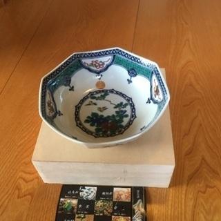 九谷焼の菓子鉢