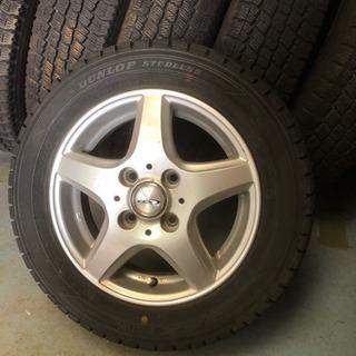スタッドレス155/65R13/タイヤホイールセット