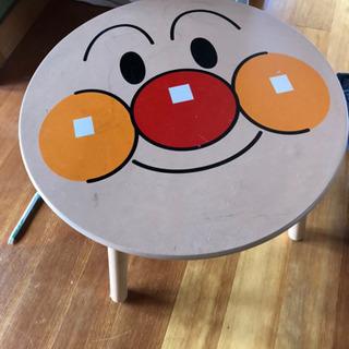 アンパンマン  顔 テーブル