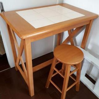 2人用テーブル 90×68