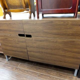 札幌 引き取り 木製 サイドボード/キャビネット 収納棚 ラック...