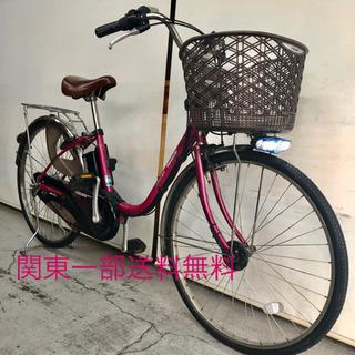 パナソニック ビビEX 26インチ 6.6ah 高年式 電動自転...