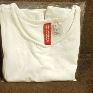 新品✨『divided  h&m』ベビー用白ランニングシャツ