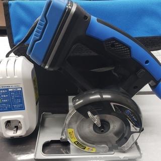 【中古】アースマン 充電式マルノコ 110㎜ 14.4V DM-...