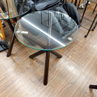 札幌 引き取り ガラステーブル コーヒーテーブル アジアンテイス...