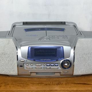 シャープ  MD/CDシステム MD-F150-S ジャンク品