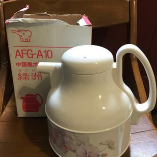 象印中国風ポット まほうびん(卓上用) 緑洲 胡蝶蘭 AFG-A...