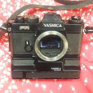 フィルムカメラ YASHICA FR WINDER付き ジャンク