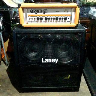 Orange CR120H(ヘッド) & Laney HCM41...