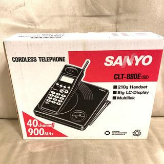 新品 サンヨー 電話 SANYO CLT880E 子機 親電 受...