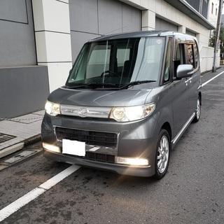タントカスタムRSターボ H21 車検3年12月 純正2DINナ...