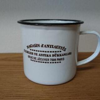 ホーロー マグカップ 鉢カバー インテリア雑貨 シャビー