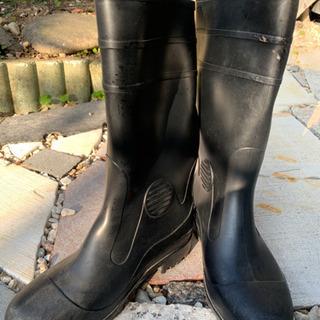 お値下げします❣️雨靴(安全靴)