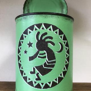 リメイク缶[中]*ココペリ*黄緑