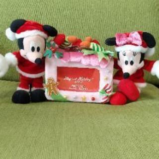 ディズニー クリスマス写真立て