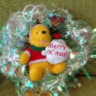プーさん クリスマスリース