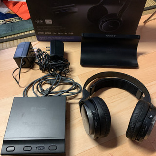 SONY デジタルサラウンドヘッドホンシステム