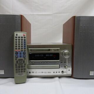 超美品のCD/DVD/MD/MDLPシステムコンポお安くお譲りい...