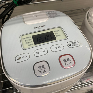 SHARP シャープ KS-C5K 3合炊き 炊飯器 20…