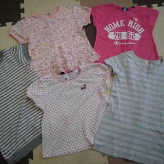 女の子 95&100センチ Tシャツセット(5枚) (投稿管理番...