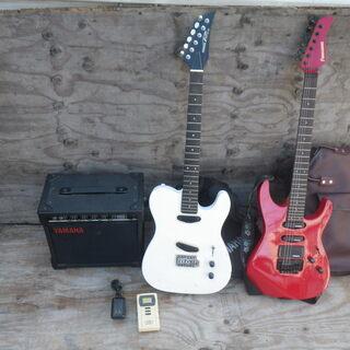 ■ジャンク 現状品■エレキギター フェンダー ヤマハ アンプ