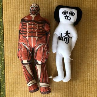 大きめ☆進撃の巨人&オカザエモン2体