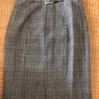千鳥柄スカート Mサイズ 美品
