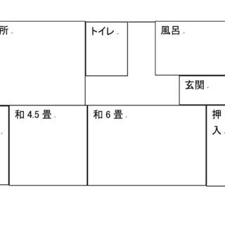 余戸平屋(南) 2DK【3.9万円】ペットOK