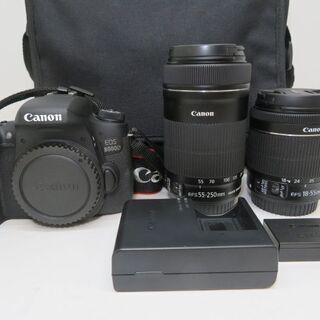 Canon キヤノン EOS 8000D 18-55mm 55-...