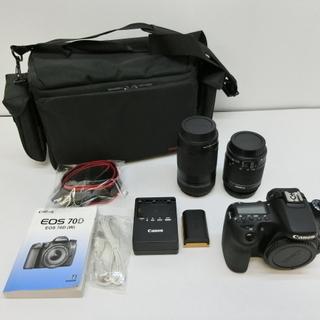 Canon デジタル一眼レフカメラ EOS 70D ダブルズーム...