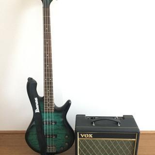 ベースギター&アンプセット