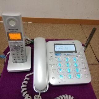 パナソニック子機付き電話機