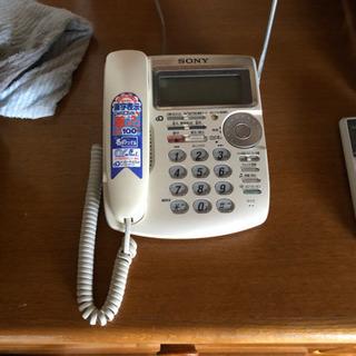 SONY電話機値下げしました!