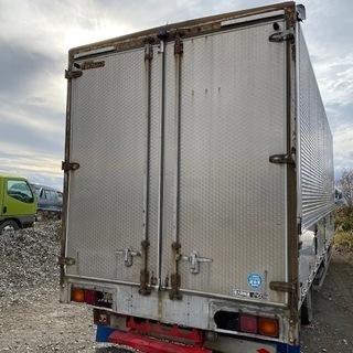 【格安】4トン箱ウイング コンテナ 物置 倉庫 アルミ箱 格安提...