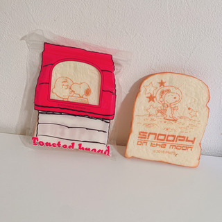 SNOOPY★パン型スクイーズ