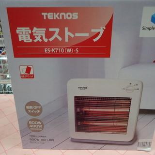 【引取限定】テクノス 電気ストーブ ES-K710W 新品 【ハ...