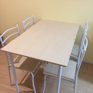 【取引完了】ダイニングテーブル&椅子4脚セット★
